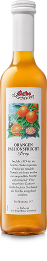 Darbo - Orange and passion fruit