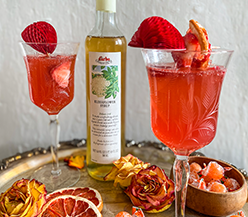 Elderflower Rose Spritz