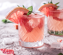 Grapefruit Holunderblüten Cocktail