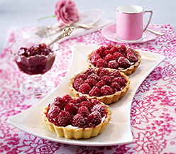 Raspberry tartlets