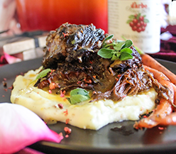 Red Wine & Lingonberry Braised Short Ribs